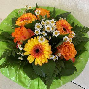 Blumenstrauß in gelb und orange