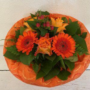 Blumenstrauß in orange