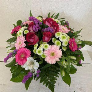 Blumenstrauß in rosa, pink und weiß